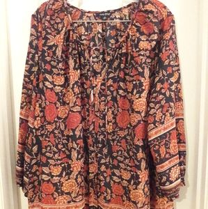 LUCKY BRAND Plus Size Top